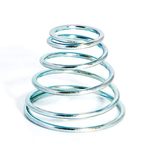 molla-compressione conica zincatura